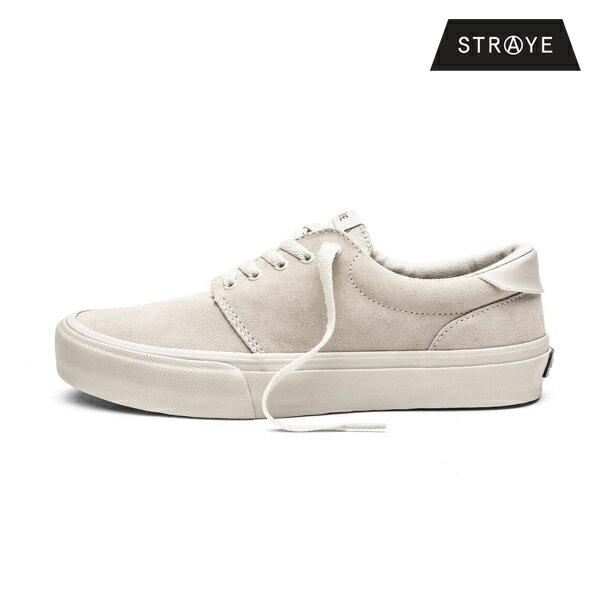 【STRAYE】FAIRFAX カラー:bone suede 【ストレイ】【スケートボード】【シューズ】