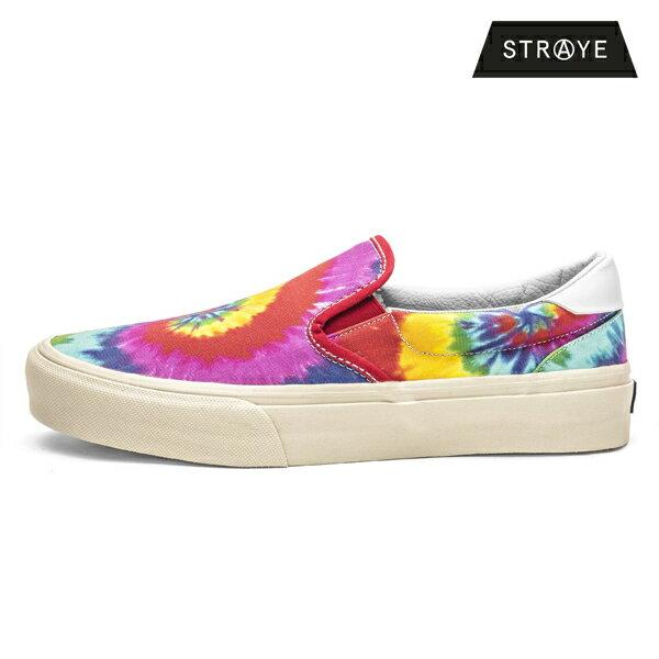 【STRAYE】VENTURAカラー:rainbow tie-dye【ストレイ】【スケートボード】【シューズ】