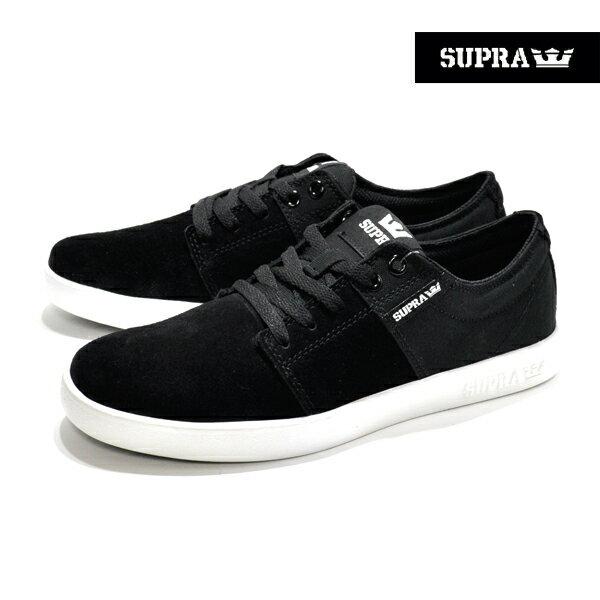 【SUPRA】STACKS 2 カラー:black-white 08183-003【スープラ】【スケートボード】【シューズ】【25cm/27cm】