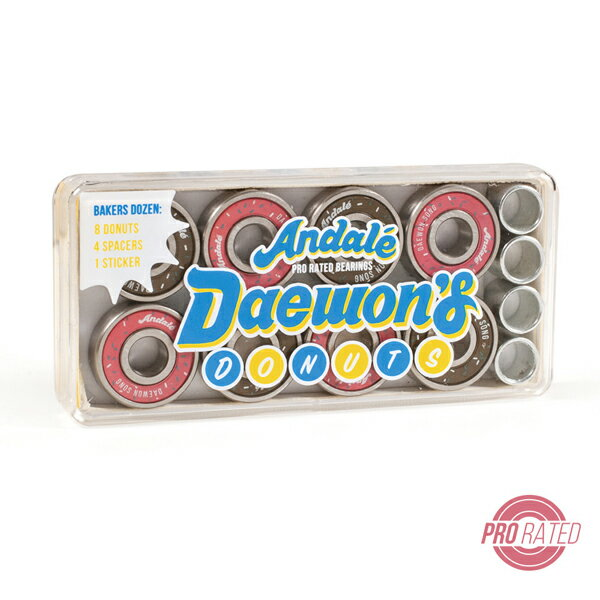 パーツ, ベアリング AndaleDaewons Donuts Pro Rated BearingsDaewon Song Signature Model