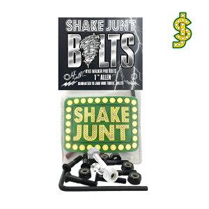 "【SHAKE JUNT】KYLE WALKER PRO BOLTS 1""ALLEN シェイク ジャント パーツ ビス 六角 スケートボード スケボー SKATEBOARD"