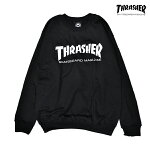 【THRASHER】MAG CREW SWEAT カラー:black 【スラッシャー】【スケートボード】【スウェット/クルーネック】