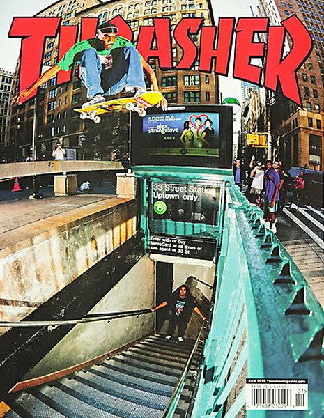 【THRASHER MAGAZINE】2019.1月号【スラッシャーマガジン】【スケートボード】【書籍/雑誌/マガジン】