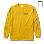 【NUMBERS EDITION】ASSEMBLY L/S tee カラー:spectra yellow 【ナンバーズ エディション】【スケートボード】【Tシャツ/長袖】
