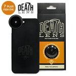 【DEATH DIGITAL】-FISHEYE LENS- iPhone 7 PLUS用 【デスレンズ】【スケートボード】【アイフォン】【レンズ/アクセサリー】