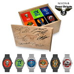 【NIXON×BONES BRIGADE】THE TIME TELLER A Limited Edition Collection -BOX SET-【ニクソン】【ボーンズブリゲード】【スケートボード】【時計】【BOX SET】
