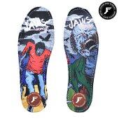【FOOTPRINT INSOLE】KINGFOAM INSOLES JAWS ZOMBIE 7mm【フットプリント】【スケートボード】【シューズ アクセサリー】【インソール】【7mm】