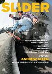 【SLIDER】Vol.35 2018 【スライダー】【スケートボード】【書籍/雑誌/マガジン】