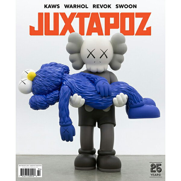 【JUXTAPOZ】WINTER 2019 -208- 【ジャクスタポーズ】【スケートボード】【書籍/雑誌/マガジン】
