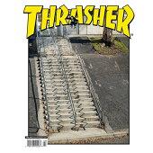 【THRASHER】2020.4月号 スラッシャー マガジン 書籍 雑誌 スケートボード スケボー SKATEBOARD