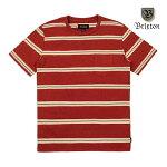 【BRIXTON】HILT WASHED POKCET knit カラー:burgundy 【ブリクストン】【スケートボード】【ティーシャツ/半袖】