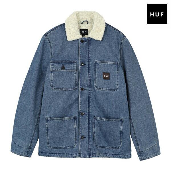 【HUF】TORRANCE JACKET カラー:indigo 【ハフ】【スケートボード】【ジャケット】