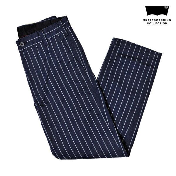 【LEVI'S SKATEBOARDING】SKATE WORK PANT カラー:pin stripe 【リーバイス】【スケートボーディング】【スケートボード】【パンツ/チノ】