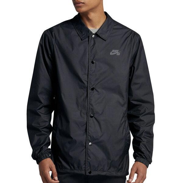 【NIKE SB】SHIELD Coaches Jacket  カラー:black/cool grey  829510-010 【ナイキ エスビー】【スケートボード】【ジャケット】