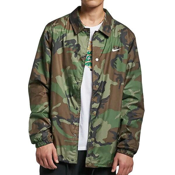 【NIKE SB】CAMO Skateboard Jacket カラー:medium olive/white AT9913-222【ナイキ エスビー】【スケートボード】【ジャケット】