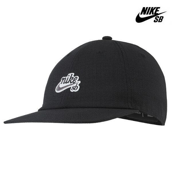 【NIKE SB】H86 FLAT BILL CAP カラー:blackAV7884-010【ナイキ エスビー】【スケートボード】【帽子/キャップ】