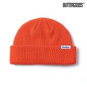 【BUTTER GOODS】WHARFIE BEANIE カラー:warm orange バターグッズ ビーニー ニット帽 キャップ スケートボード スケボー SKATEBOARD
