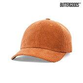 【BUTTER GOODS】RANGER CORDUROY 6PANEL CAP カラー:rust バターグッズ キャップ 帽子 スケートボード スケボー SKATEBOARD