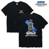 【POSSESSED×RADIALL】GRAVE CREW NECK TEE カラー:black ポゼスト ラディアル Tシャツ 半袖 スケートボード スケボー SKATEBOARD