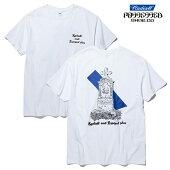 【POSSESSED×RADIALL】GRAVE CREW NECK TEE カラー:white ポゼスト ラディアル Tシャツ 半袖 スケートボード スケボー SKATEBOARD