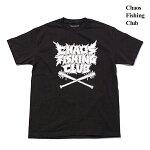 【Chaos Fishing Club】HARDCORE TEE カラー:black カオスフィッシングクラブ Tシャツ 半袖 スケートボード スケボー SKATEBOARD