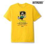 【BUTTER GOODS】EVERYDAY TEE カラー:yellow バターグッズ Tシャツ 半袖 スケートボード スケボー SKATEBOARD