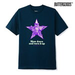 【BUTTER GOODS】TURN IT UP TEE カラー:navy バターグッズ Tシャツ 半袖 スケートボード スケボー SKATEBOARD
