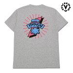 【VHS MAG】IPPON TEE カラー:athletic heather ブイエッチエスマグ ティーシャツ 半袖 スケートボード スケボー SKATEBOARD