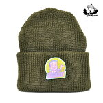 【WACKWACK】MULLET WATCH CAP カラー:green 【ワックワック】【スケートボード】【ビーニー/帽子】