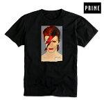 【PRIME】JASON LEE BOWIE tee カラー:black 【プライム】【ジェイソン・リー】【デヴィッド・ボウイ】【スケートボード】【ティーシャツ/半袖】