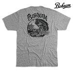 【BOHNAM】COVE PREMIUM S/S TEE カラー:grey 【ボーナム】【スケートボード】【ティーシャツ/半袖】