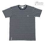 【COLOR COMMUNICATIONS】CLR EMB STRIPE カラー:navy/white 【カラーコミュニケイションズ】【スケートボード】【Tシャツ/半袖】