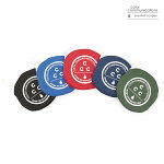 【COLOR COMMUNICATIONS】COIN CASE CCC ZIP カラー:black/blue/red/navy/green【カラーコミュニケイションズ】【スケートボード】【小物】