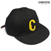 【CHRYSTIE】CHRYSTIE X CSC C LOGO 6PANEL CAP カラー:home black 【クリスティ】【スケートボード】【帽子/キャップ