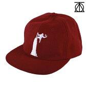 【THEORIES】EMPIRE STRAPBACK カラー:burgundy【セオリーズ】【スケートボード】【帽子/キャップ】