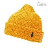 【COLOR COMMUNICATIONS】DRIP EMB CUFF カラー:yellow 【カラーコミュニケイションズ】【スケートボード】【ビーニー/帽子】