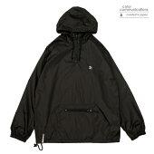【COLOR COMMUNICATIONS】CLR EMB PACKABLE ANORAK カラー:black 【カラーコミュニケイションズ】【スケートボード】【ジャケット】