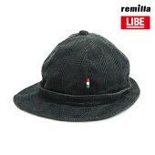 【LIBE×REMILLA】L&R CORDUROY HAT カラー:smoke 【ライブ】【レミーラ】【スケートボード】【キャップ/帽子】