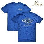 【KINGSTON UNION MFG】DELTA PREMIUM tee カラー:blue 【キングストン】【スケートボード】【ティーシャツ/半袖】