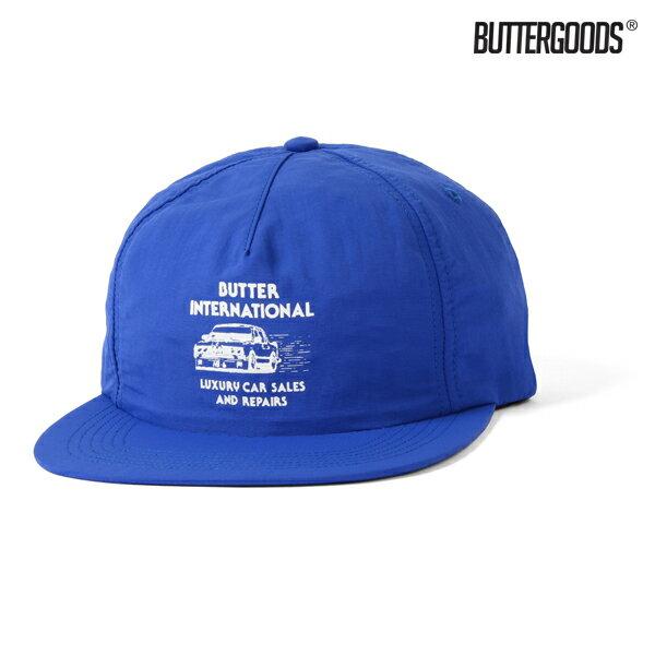 【BUTTER GOODS】M3 5 PANEL SNAPBACK CAP カラー:royal 【バターグッズ】【スケートボード】【キャップ/帽子】