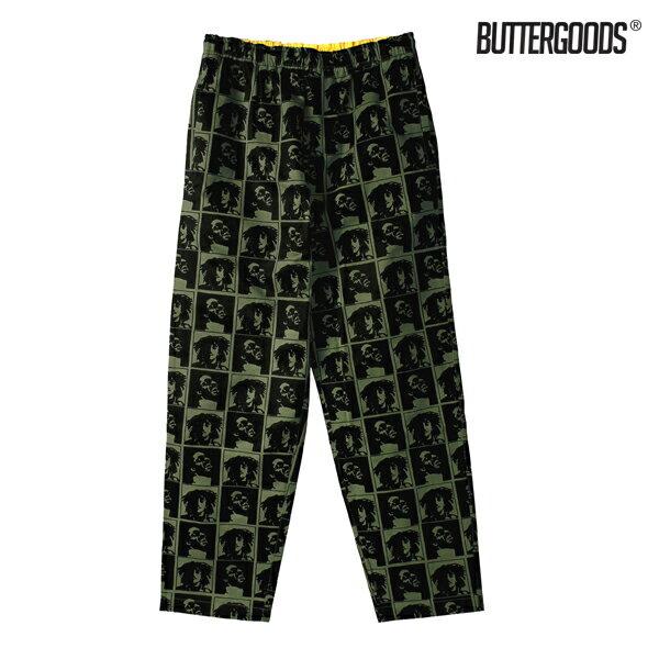 【BUTTER GOODS】KINGSTON PANTS カラー:olive 【バターグッズ】【スケートボード】【パンツ/ズボン】