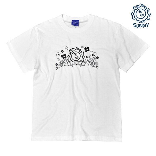 【SUNNY Skateboard】ANTI IDOL SUNNYちゃん TEE カラー:white 【サニー】【スケートボード】【Tシャツ/半袖】