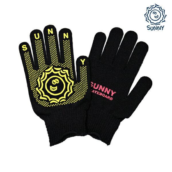 【SUNNY Skateboard】サニーちゃん gunntebukuro カラー:black 【サニー】【スケートボード】【手袋/軍手】