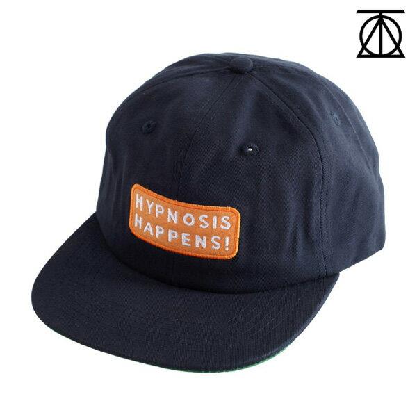 【THEORIES】HYPNOSIS HAPPENS STRAPBACK CAP カラー:navy 【セオリーズ】【スケートボード】【帽子/キャップ】