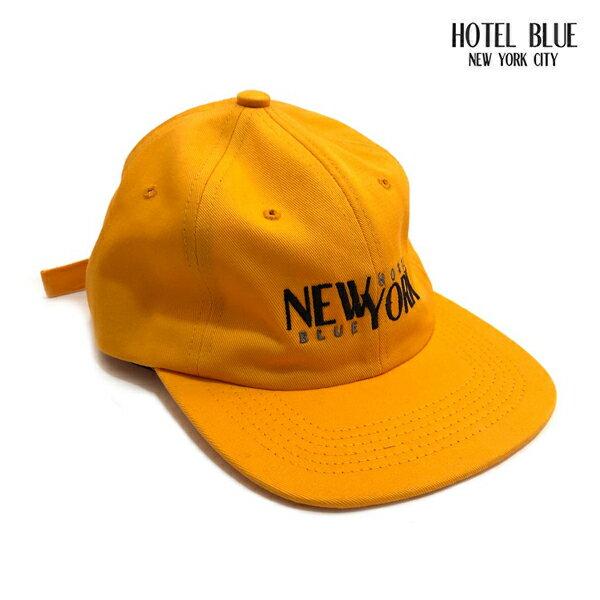 【HOTEL BLUE】STACKS HAT カラー:gold 【ホテルブルー】【スケートボード】【キャップ/帽子】