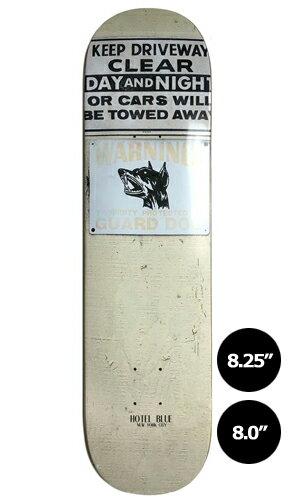 【HOTEL BLUE】GUARD DOG 【ホテルブルー】【スケートボード】【デッキ】【8.0/8.25インチ】選べる無料のデッキテープ付き!