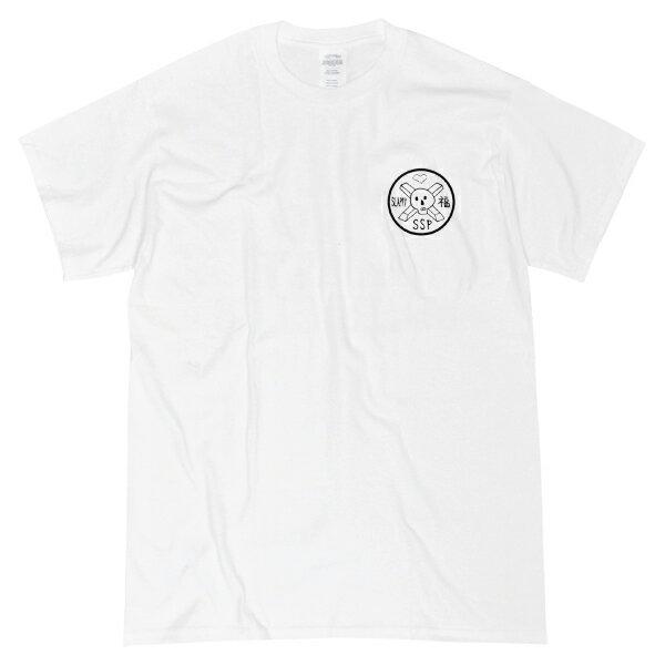 【SSP】SUPER DOKURO Tee カラー:white 【エスエスピー】【スケートボード】【ティーシャツ/半袖】