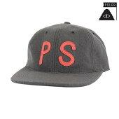 【POLER】PS WOOL HAT カラー:grey 【ポーラー】【スケートボード】【キャップ/帽子】