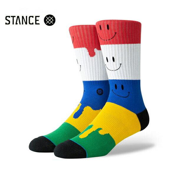 【STANCE】FACE MELTER カラー:multi 【スタンス】【スケートボード】【靴下/ソックス】