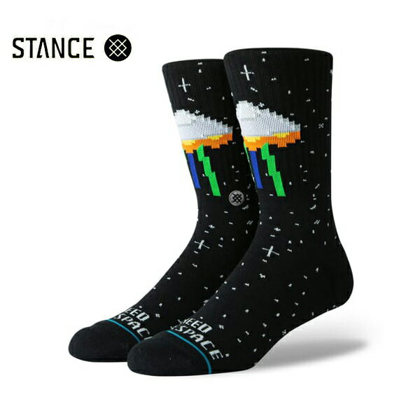 【STANCE】I NEED SOME SPACE カラー:black 【スタンス】【スケートボード】【靴下/ソックス】
